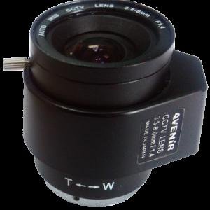 Auto iris dc 3,5-8mm varifokal