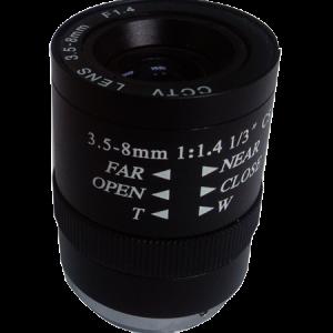 Avenir manual iris 3.5-8mm