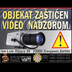 Nalepnica za Video Nadzor