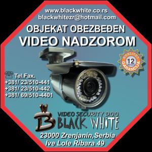 Nalepnice za video nadzor