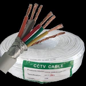 Kabl  alarmni 6C, 6X0,22 CCA, bele boje, po metru